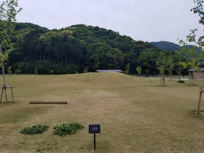 モンベル五ケ山ベースキャンプのCサイト-C5