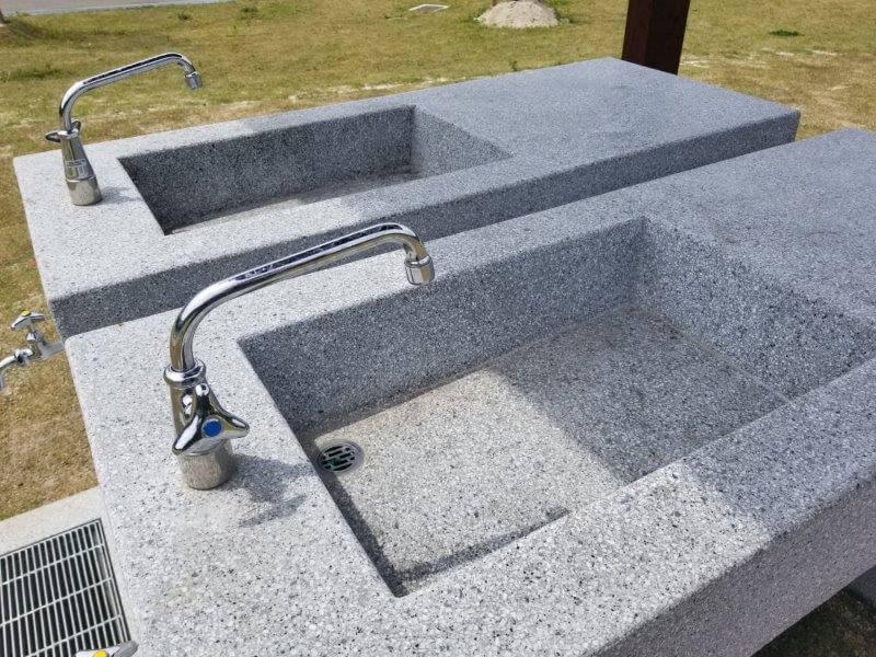 モンベル 五ケ山ベースキャンプ 洗い場
