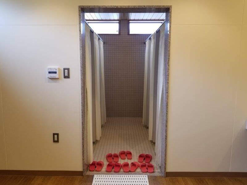 モンベル 五ケ山ベースキャンプ シャワールーム
