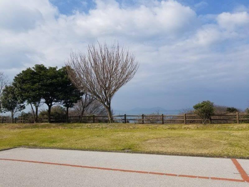 竜王山公園オートキャンプ場 広場サイト 40番