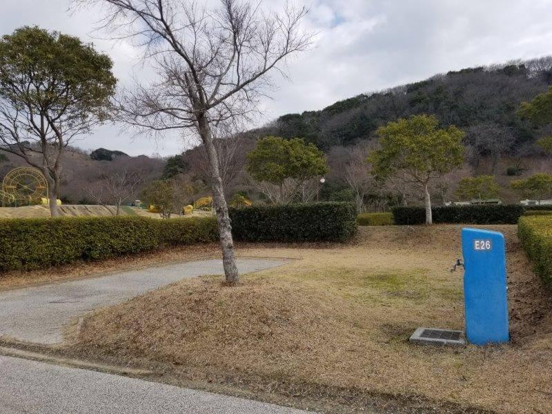 竜王山公園オートキャンプ場 個別サイト E26サイト