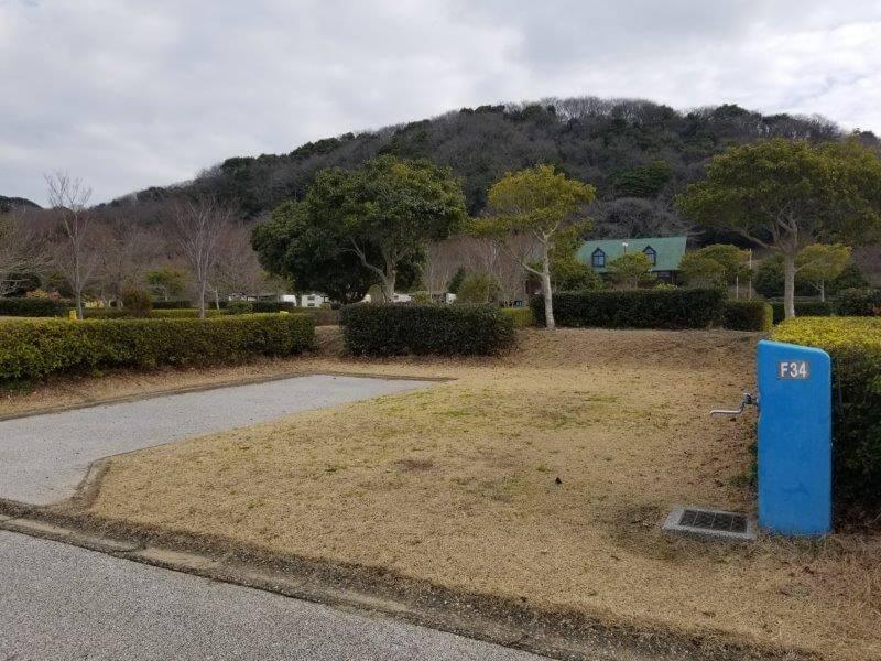 竜王山公園オートキャンプ場 個別サイト F34サイト