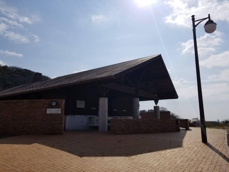 竜王山公園オートキャンプ場のサテライトハウス