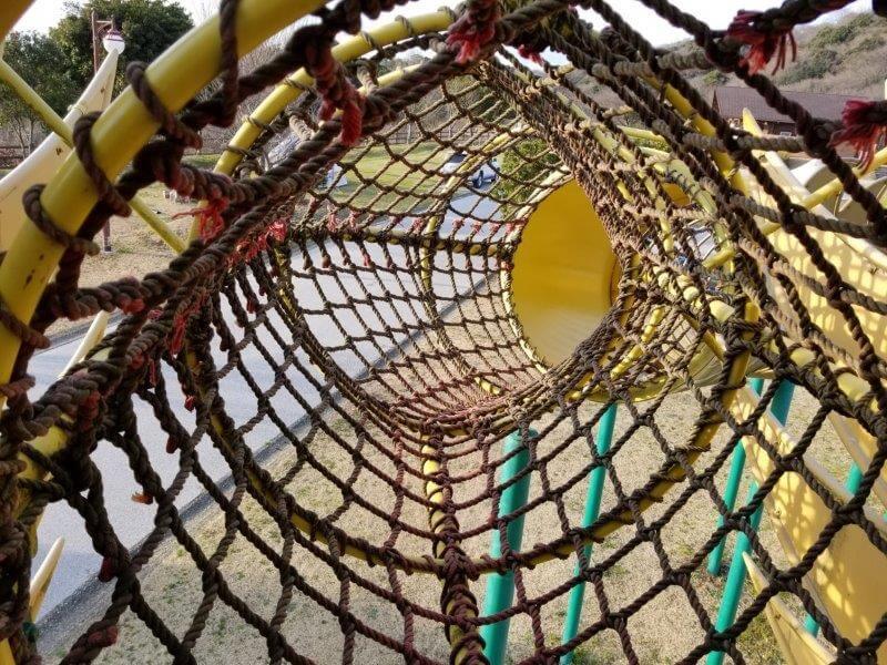 竜王山公園オートキャンプ場の遊具