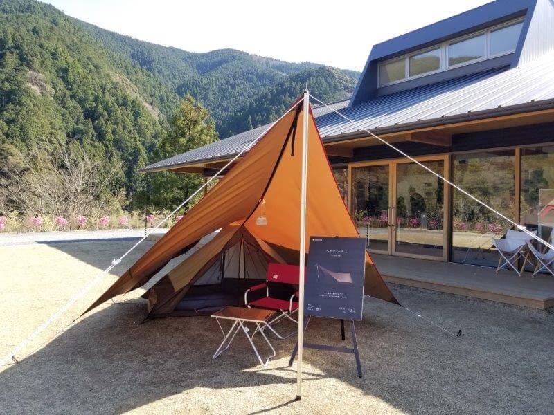スノーピーク製のソロ用テント、ヘキサイーズ1