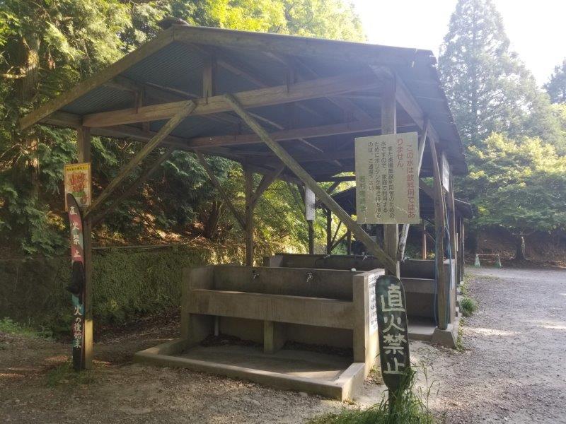 若杉楽園キャンプ場の炊事場