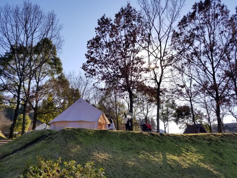 熊本県湯前町で年越しキャンプ!