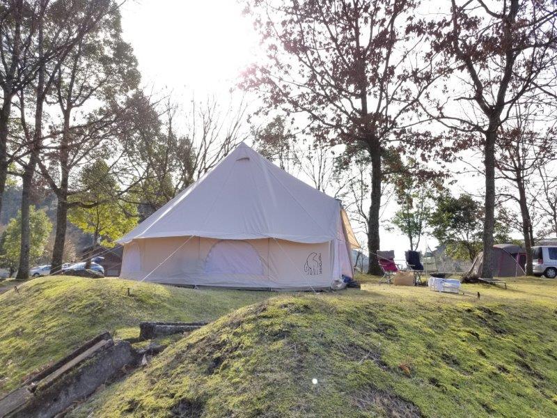 ゆのまえキャンプ場で年越しキャンプ