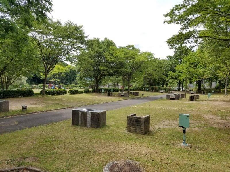 秋吉台オートキャンプ場Aサイト