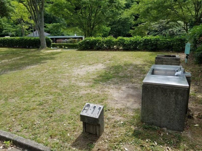 秋吉台オートキャンプ場AサイトのA11
