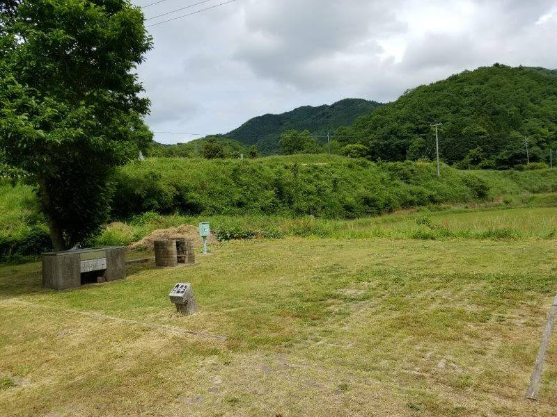 秋吉台オートキャンプ場AサイトのA23