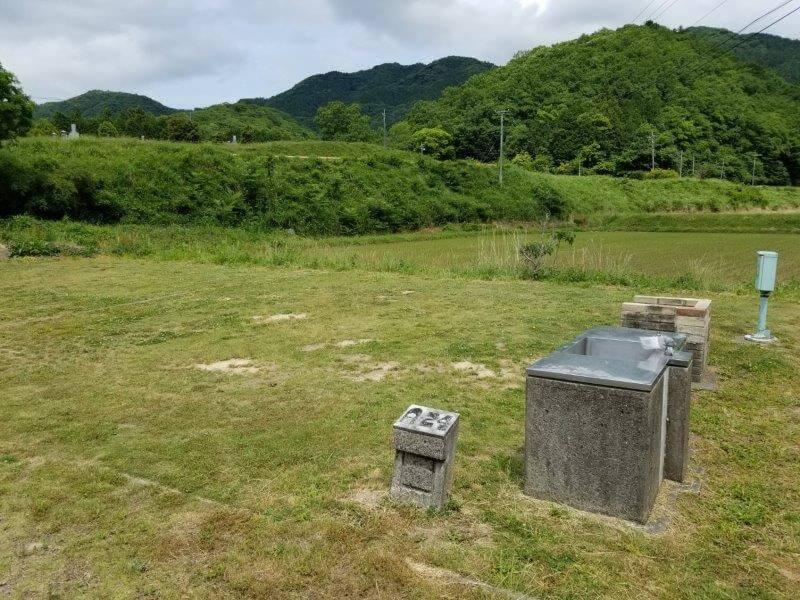 秋吉台オートキャンプ場AサイトのA24