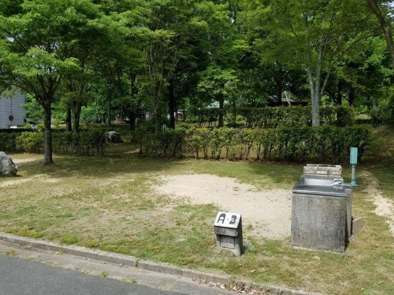 秋吉台オートキャンプ場AサイトのA3