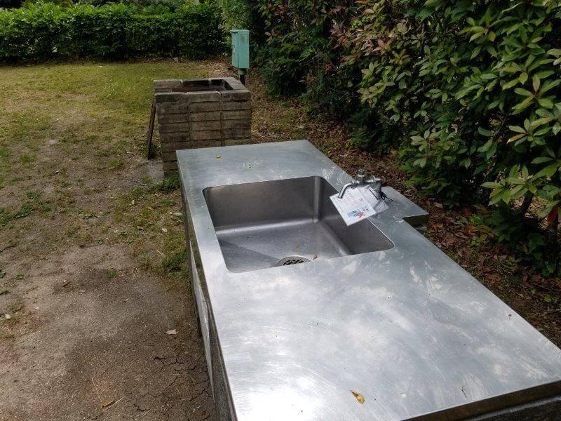 秋吉台オートキャンプ場Aサイトの充実した設備
