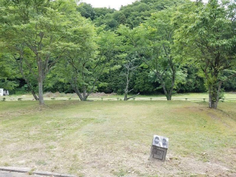 秋吉台オートキャンプ場CサイトのC3