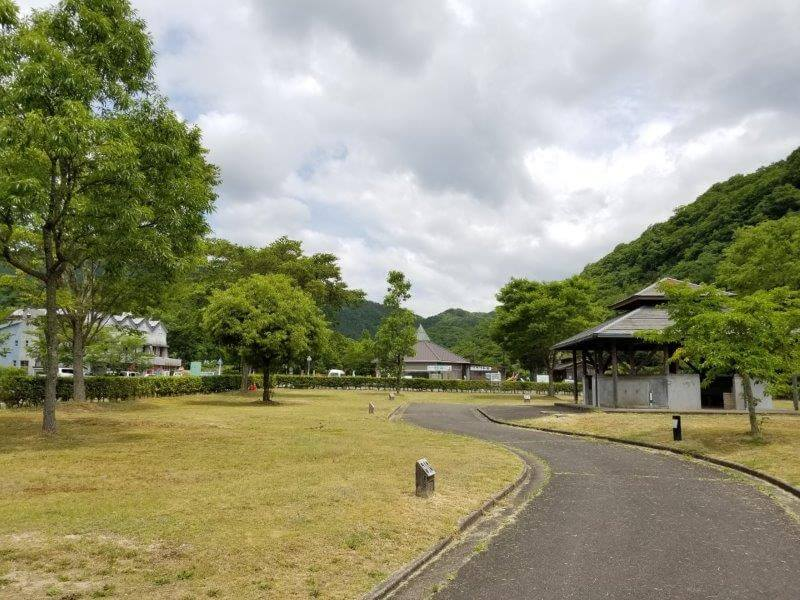 秋吉台オートキャンプ場Cサイト