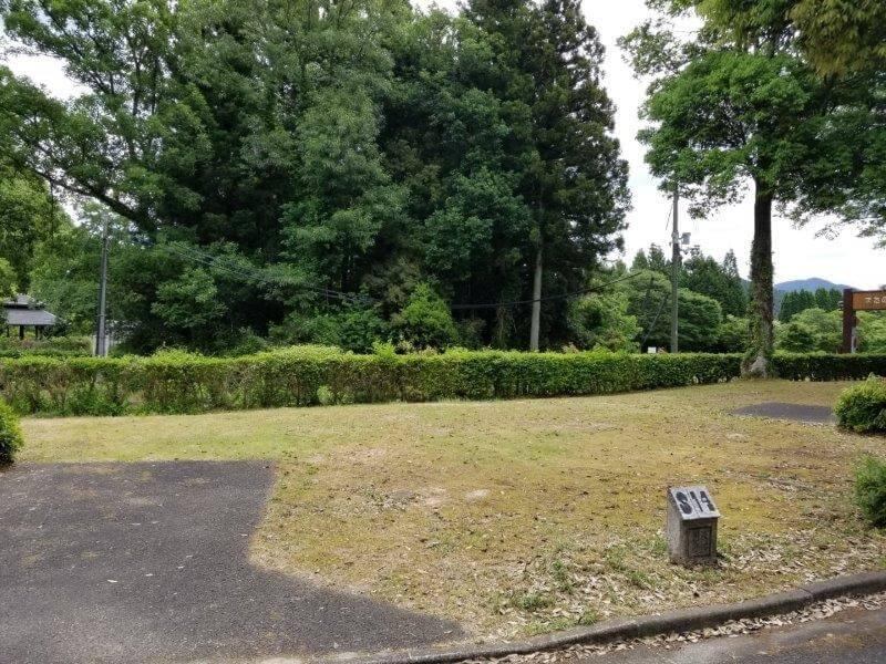 秋吉台オートキャンプ場SサイトのS14
