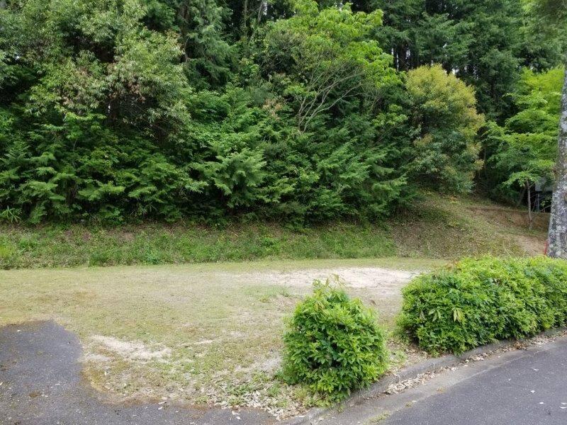 秋吉台オートキャンプ場SサイトのS19