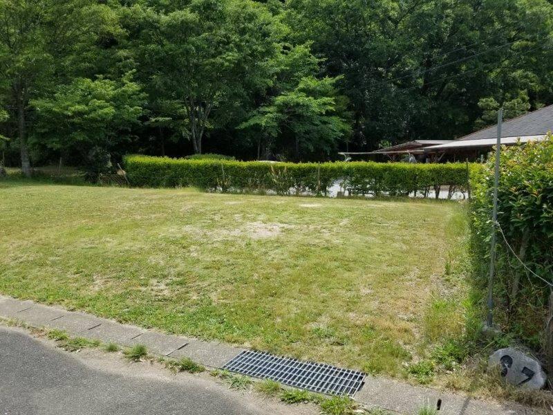 秋吉台オートキャンプ場SサイトのS7