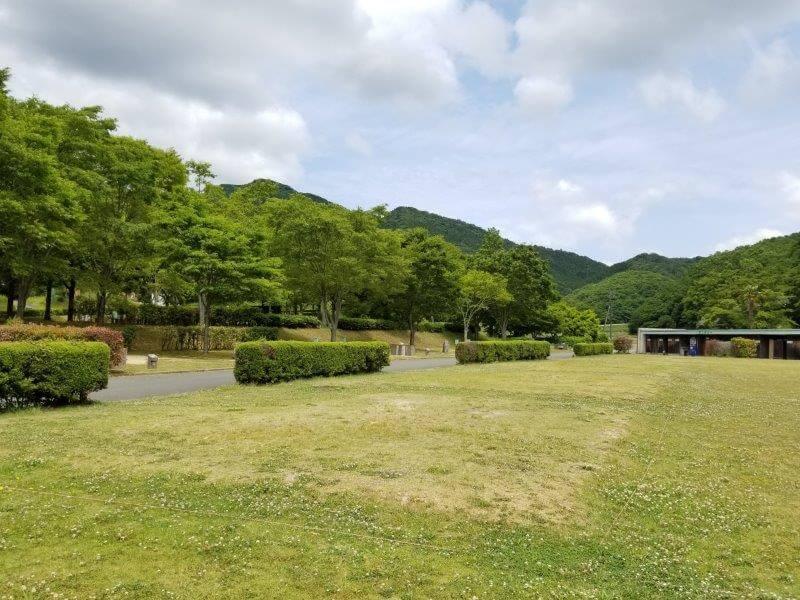 秋吉台オートキャンプ場Sサイト