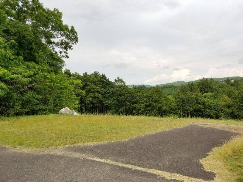 秋吉台家族旅行村のオートサイト23番