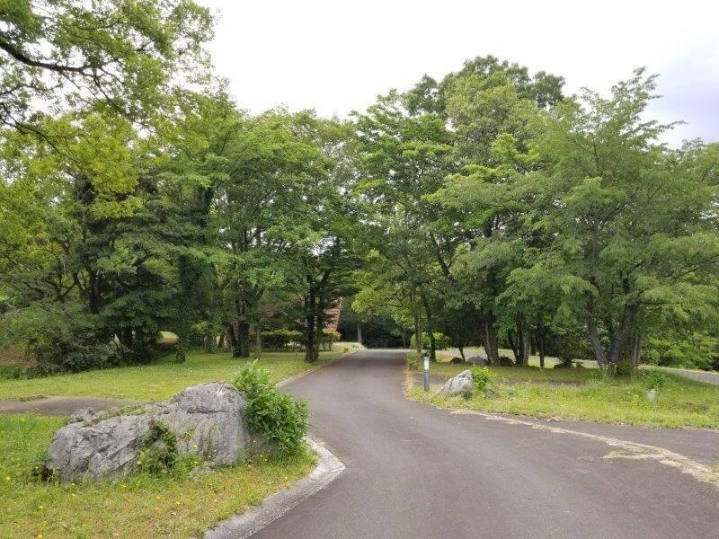 秋吉台家族旅行村のオートキャンプ場