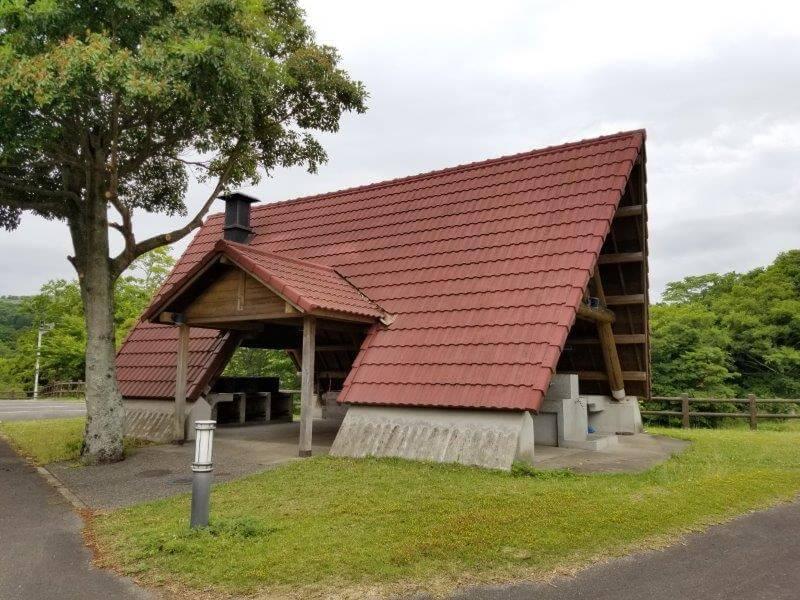 秋吉台家族旅行村オートキャンプ場の炊事棟