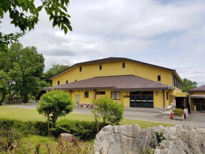 秋吉台家族旅行村の体育館