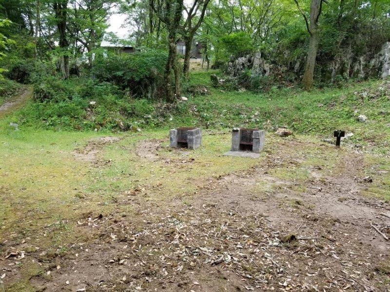 秋吉台家族旅行村の区画一般サイト7番