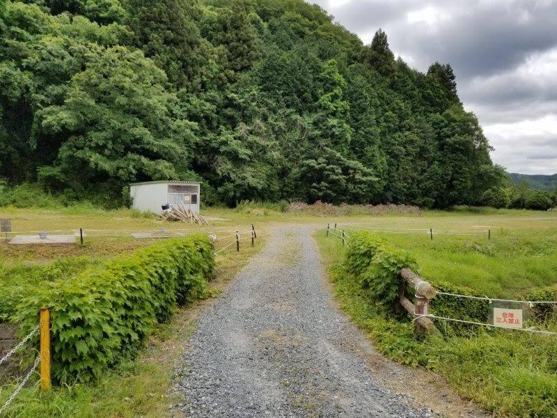 秋吉台オートキャンプ場バイクサイト