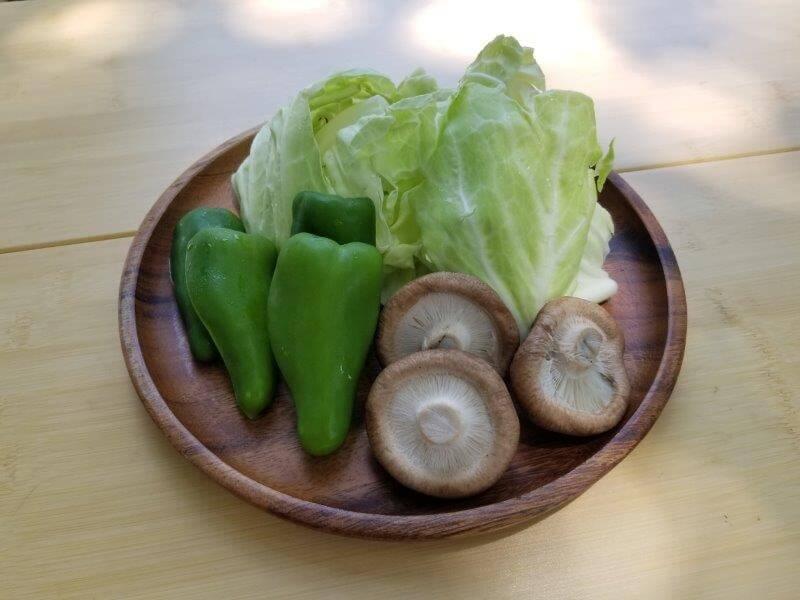 BBQ用の野菜