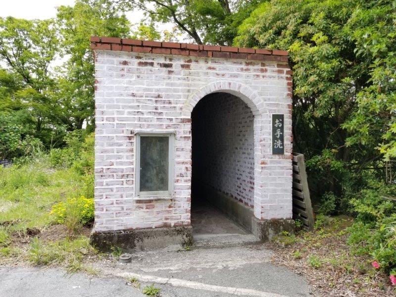 ゴンドーシャロレー 管理棟近くのキレイなトイレ