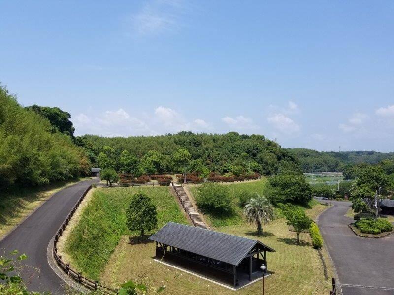 糸ヶ浜海浜公園のオートキャンプ場