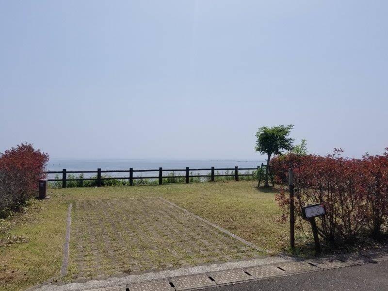 糸ヶ浜海浜公園オートサイトA2