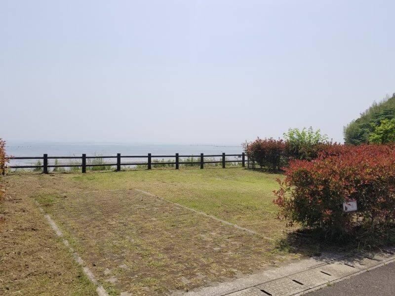 糸ヶ浜海浜公園オートサイトA4