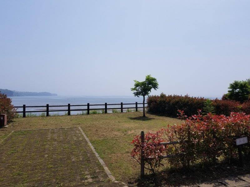 糸ヶ浜海浜公園オートサイトA6