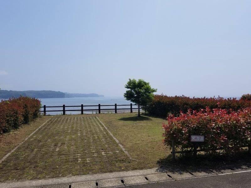 糸ヶ浜海浜公園オートサイトA7
