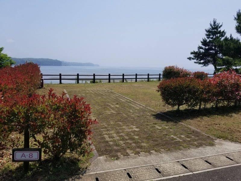 糸ヶ浜海浜公園オートサイトA8