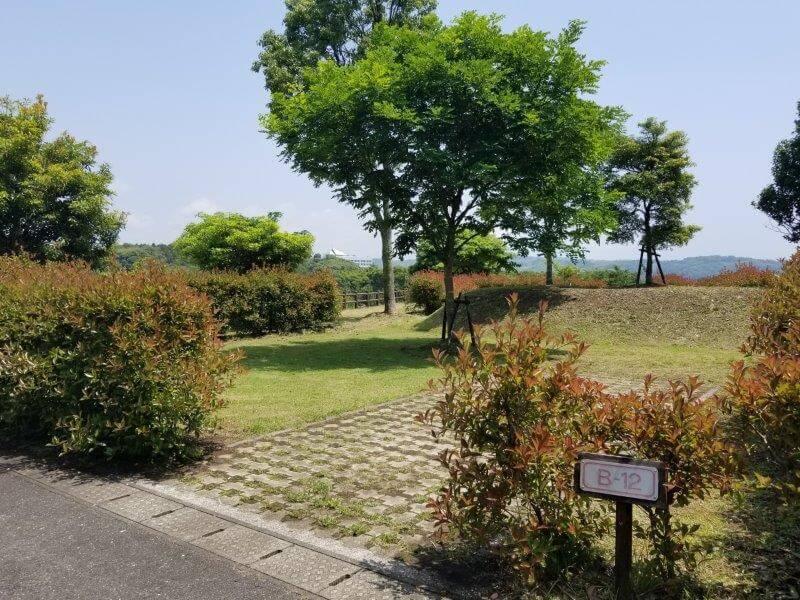 糸ヶ浜海浜公園オートサイトB12