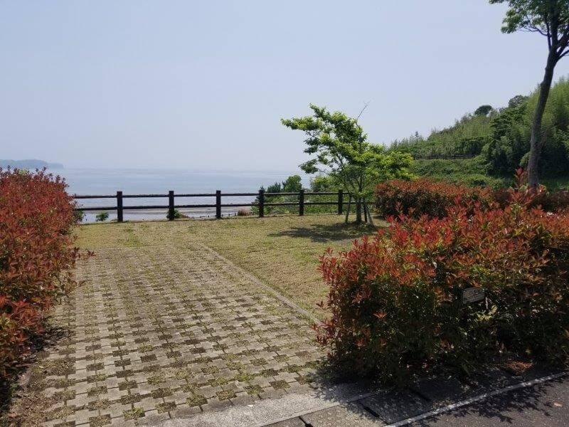 糸ヶ浜海浜公園オートサイトB2