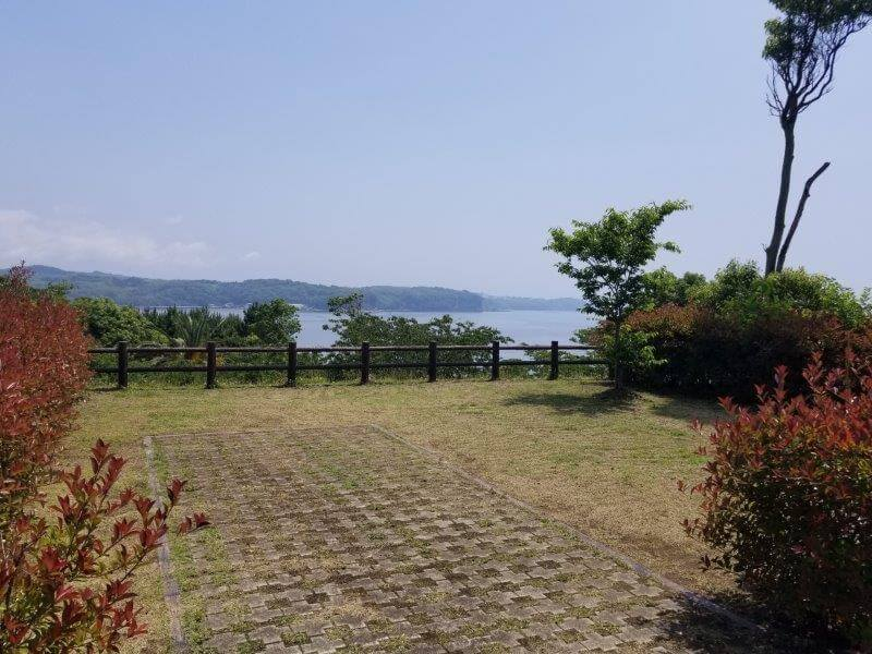糸ヶ浜海浜公園オートサイトB4