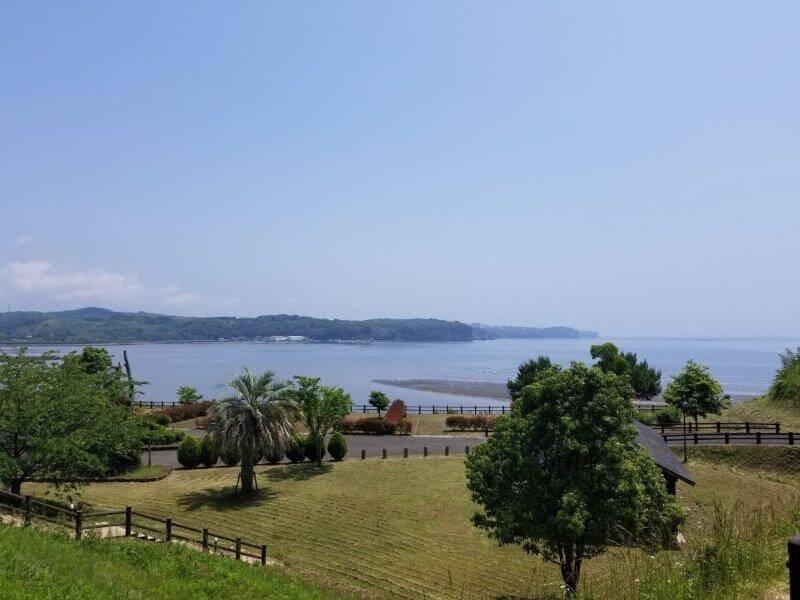 糸ヶ浜海浜公園のオーシャンビューサイト