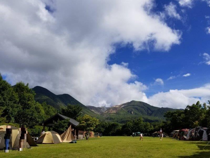 くじゅうやまなみキャンプ村フリーサイトA