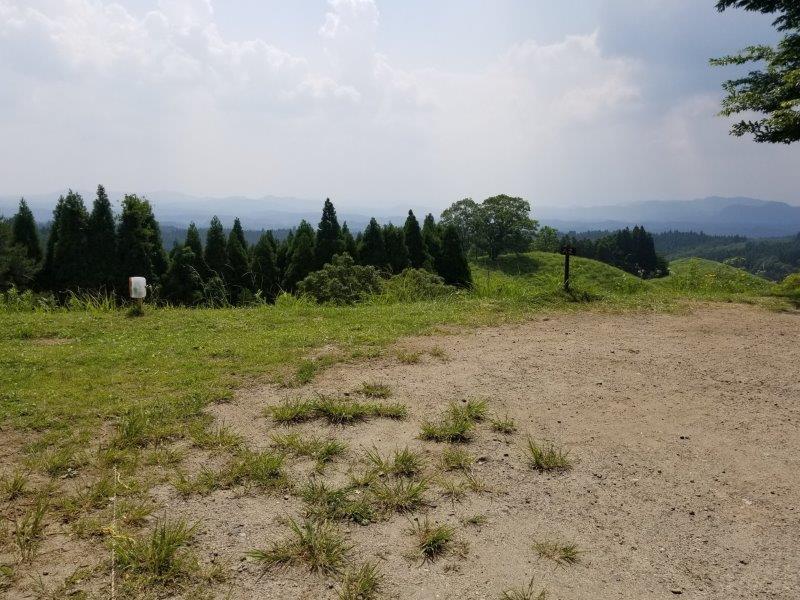 蔵迫温泉さくらキャンプ場阿蘇側のA2サイト