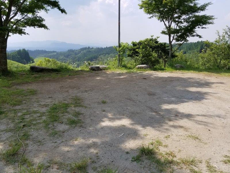 蔵迫温泉さくらキャンプ場阿蘇側のA3サイト