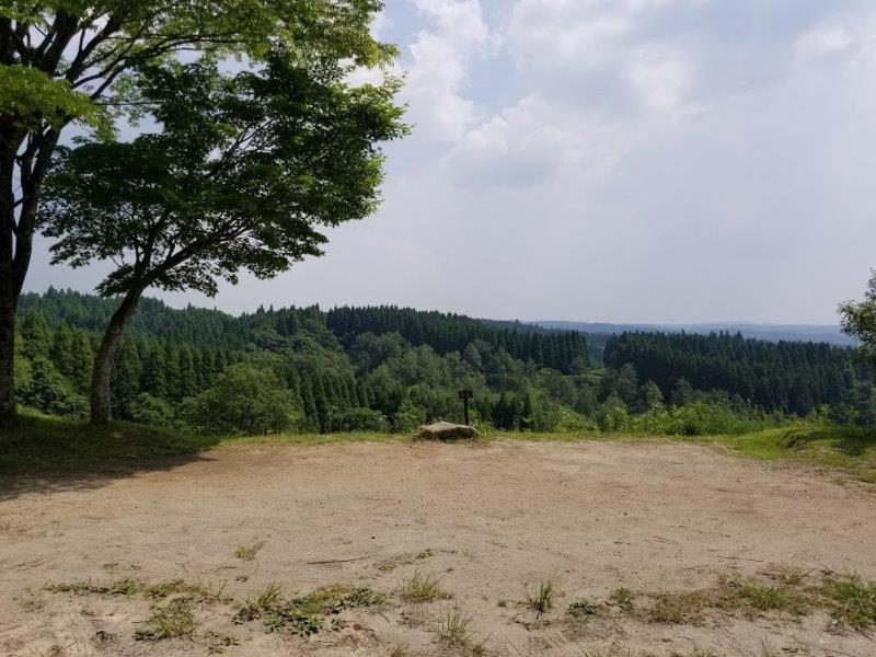 蔵迫温泉さくらキャンプ場阿蘇側のA8サイト