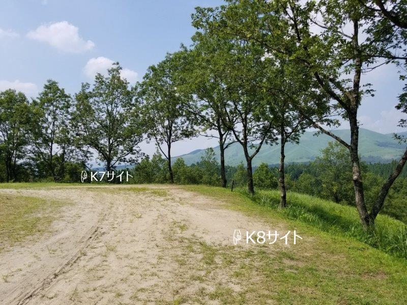 蔵迫温泉さくらキャンプ場くじゅう側K7・K8サイト