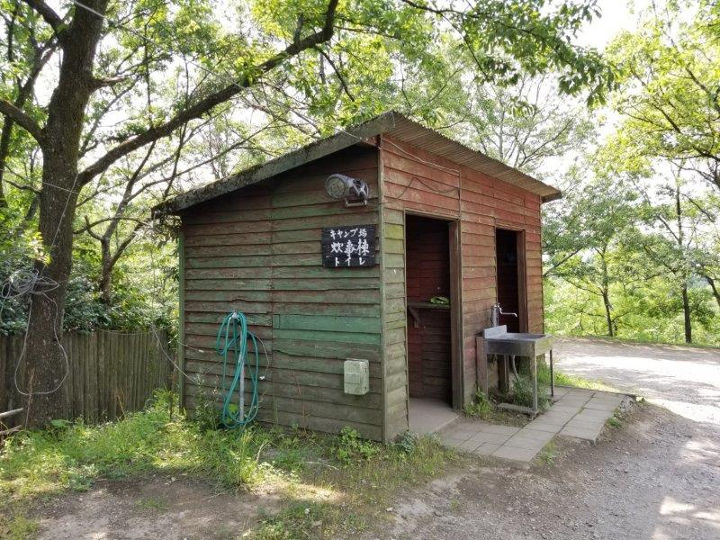 蔵迫温泉さくら くじゅう側サイトの炊事場