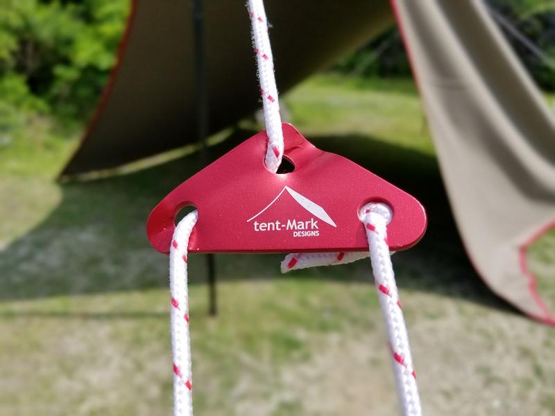 テンマクデザインのアルミ三角自在