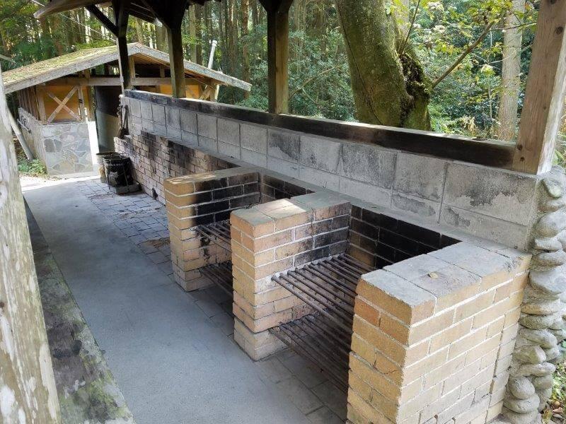バルンバルンの森 炊事棟の炉
